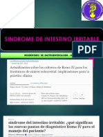 Sindrome Intestino Irritable