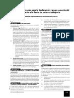 Declaraciones y Pagos, IR, ITAN, ITF