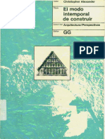 [eBook Architecture] 01. El Modo Intemporal de Costruir_ChristopherAlexander_OCR