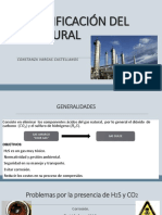 Clase 11. Endulzamiento Del Gas Natural