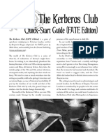 Kerberos Club FATE QuickStart 2