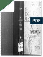 Etienne Gilson. de Aristóteles a Darwin