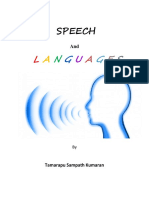 Speech and History of Languages