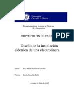 tesis electrolinera