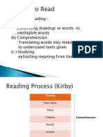 Learning in Text and Motivation