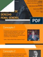 Conceptos de Derecho Penal