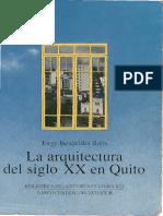 Libro - La Arquitectura Del Siglo XX en Quito