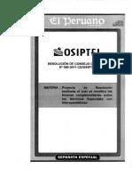 Res. N° 080-2011-CD-OSIPTEL