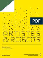 Depliant Artistes&Robots FR