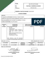 Factura Comercial Export Now Sa