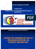 62383639 Manual Para La Organizacion de Eventos Deportivos Cap 1