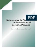 Antigua Legislación Minera_ Perdida de Dominio