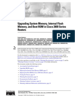 cisco 2600 Memory upgrade