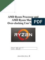 AMD Ryzen Processor and AMD Ryzen Master Overclocking Users Guide