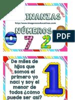 Adivinanzas de Los Números