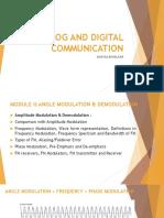 Angle Modulation & Demodulation
