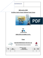 CCE Espoir WHP Crane Condition Audit Reports