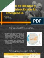 Administracion de la emergencia