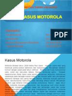 OTD Kelompok 2 - Kasus Motorola