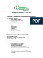 Programa Anual de Futbol Academia Entrenaenlinea