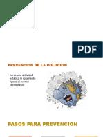 Prvencion de La Polucion