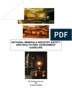 JOY, Jim; GRIFFITHS, Derek. National minerals industry safety and health risk assessment guideline. version 3, March, MCA and MISHC, Australia,(2011), Retrieved August 2013 at www. pla.pdf