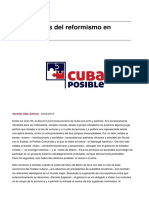 Haroldo Dilla Los Avatares Del Reformismo en Cuba