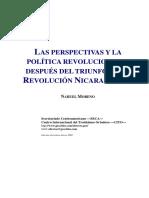 19 - NM - Las Perspectivas y La Polìtica Revolucionaria Después Del Triunfo de La Revoluciòn Nicaraguense