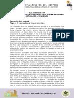 Caso_Parte 3_Régimen de Seguridad Social Integral Colombiano