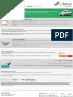 Plantilla Brochure Automóvil - Edwcar