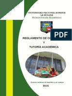 Reglamento Consejería Tutoría Académica