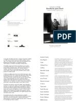 Folder Esculturas Para Ouvir