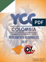 Yamato Reglamento Participantes Colombia Regionales 2017