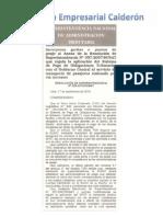 RESOLUCIÓN DE SUPERINTENDENCIA Nº 259-2010-SUNAT