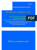 Intro to Business Case