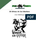 Mallorqui, Jose - El Coyote 61 - El Ultimo De Los Gandara.doc