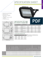 Guardian Pro Floodlight Data Sheet