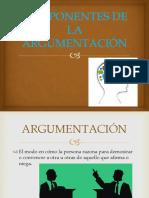 Componentes de La Argumentación