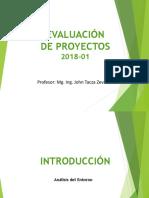 1. Evaluación de Proyectos - 2018