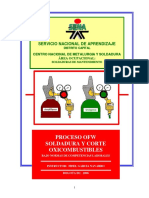 Proceso OFW, Soldadura y Corte Oxicombustible
