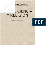 Bronislaw Malinowski - Magia, Ciencia y Religion (Planeta, 1993)