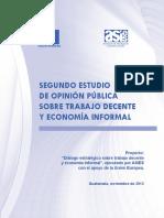 Estudio Economía Informal Guatemala
