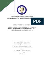 Introducción a Los Sistemas de Conexión HVDC y Su Contribución a La Mejora de La Calidad de La Energía Eléctrica - Universidad Carlos III de Madrid