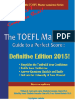 The TOEFL Master_'s Guide to a Perfect Score