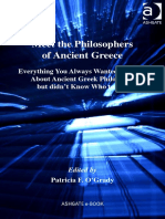 Meet the Philosophers of Ancient Greece - Everything You Always Wanted to Know About Ancient Greek Philosophy but Didn't Know Who to Ask - O'Grady, Patricia F - Download