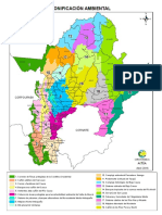 Mapa Zonificacion Antioquia