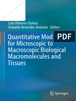 Quantitative Models for Microscopic to Macroscopic Biological Macromolecules and Tissues