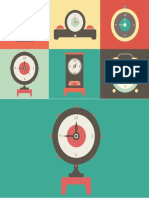 Clock Animation by PowerPoint School
