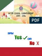 Pre Interschool Orals 15-16 U KG