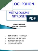 Kuliah 10 Metabolisme Nitrogen Ef